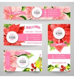 Set of corporate identity templates with beauty vector image vector image