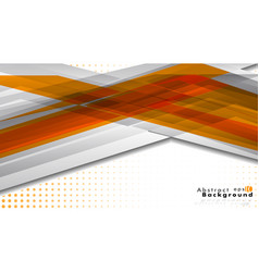 Bright abstract background template orange with vector