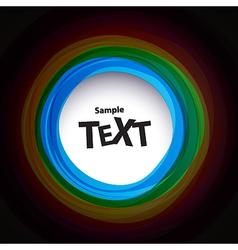 Colour speech bubbles vector image