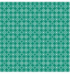 Decorative arabian pattern green seamless arabic vector