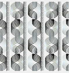 geometric greek seamless pattern modern vector image