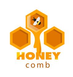 Honeycomb sweet honey drop background image vector