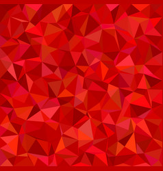 Irregular triangle tiled mosaic background vector