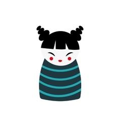 Japan girl vector