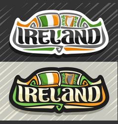 Logo for ireland vector