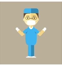 Man Surgeon Icon vector image