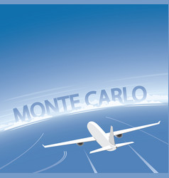 Monte carlo flight destination vector