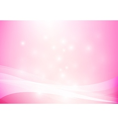 Pink yellow abstract background lighting curve and vector image