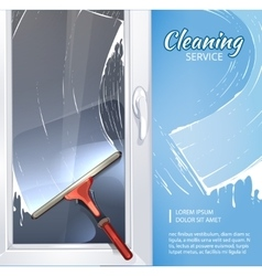 Rubber cleaner vector