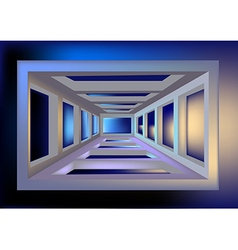 Space tunnel vector