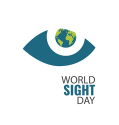 World sight day vector