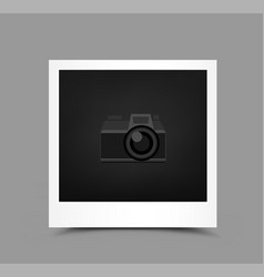 icon paper photo vector image vector image