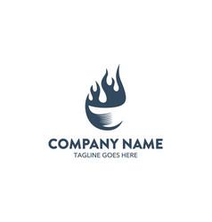 company logo brand vector image vector image