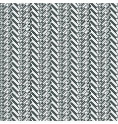 ornate herringbone vector image