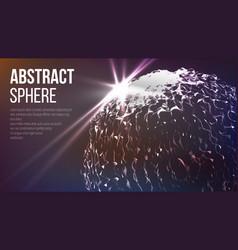 technological sense abstract vector image vector image