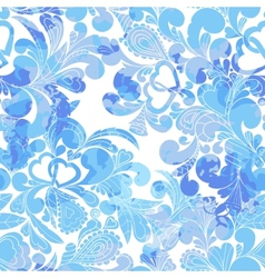 abstract hand-drawn background vector image