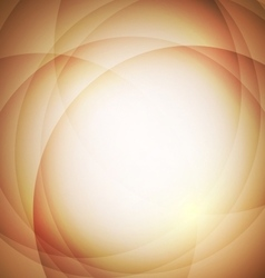Abstract orange background with circle vector image