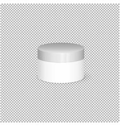 Cream mochup vector