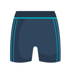 Female sport shorts icon vector