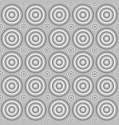 Geometrical seamless pattern - circle background vector