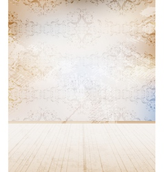 grungy wall vector image