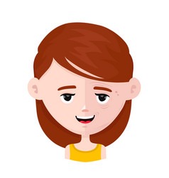 Half smiling face young and wrinkle lady vector