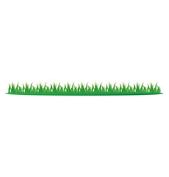 icon grass graphic design vector image