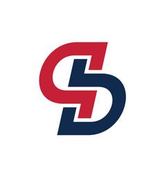 Initial sgb logo design vector