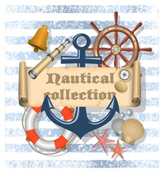 Nautical Collection 4 vector image