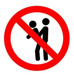 No public sex ban street coitus forbidden make vector