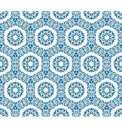 Seamless ornamental oriental pattern vector