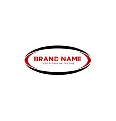 Swoosh generic logo design vector