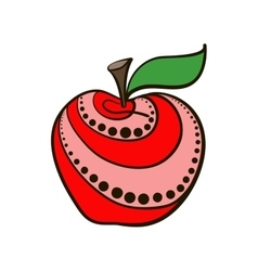 AppleDecorative vector image