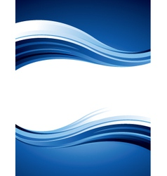 Blue design vector