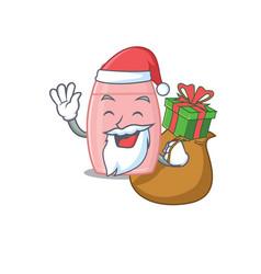 Cartoon design baby cream santa having vector