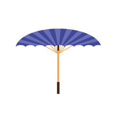 Chinese umbrella isolated vector