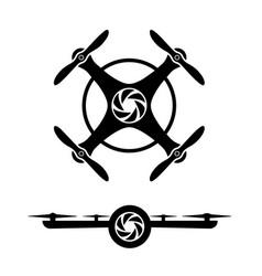 drone-logo-set vector image
