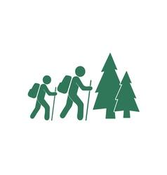 Stick Figure Amp Hiker Vector Images Over 640