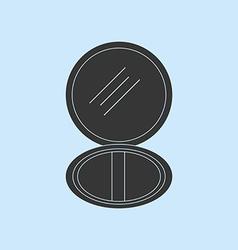 Puff Box Icon vector