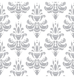 White and grey pattern Wallpaper vector