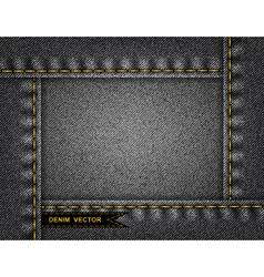 Denim background vector image