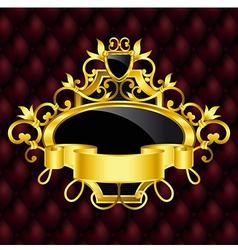 luxury vintage banner vector image vector image