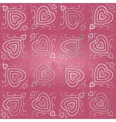 Seamless Abstract Pink Pattern vector image vector image