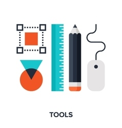 design tools vector image vector image