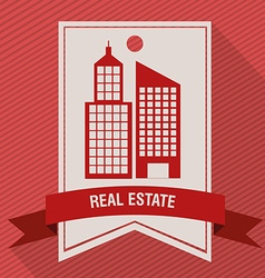 real estate company vector image vector image