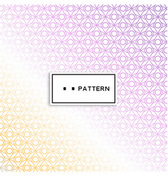 Abstract geometric pattern with lines rhombuses a vector
