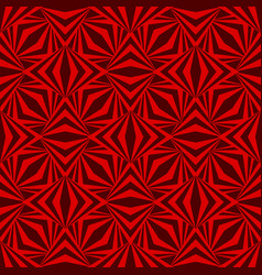 art abstract geometric dark red romb pattern vector image