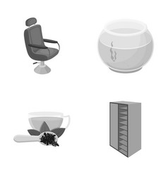 Business leisure ecology and other monochrome vector