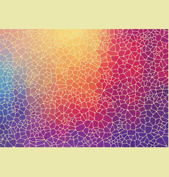 Flat colorful triangle geometric wallpaper vector