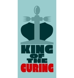 King of the curing vector